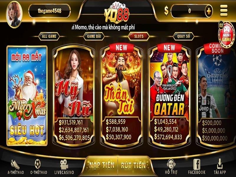 YO88 Club là nơi đổi thưởng ăn tiền đẳng cấp số 1 châu Á.